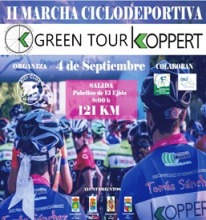 MARCHA CICLODEPORTIVA GREEN TOUR KOPPERT - EL EJIDO 04-09-2016