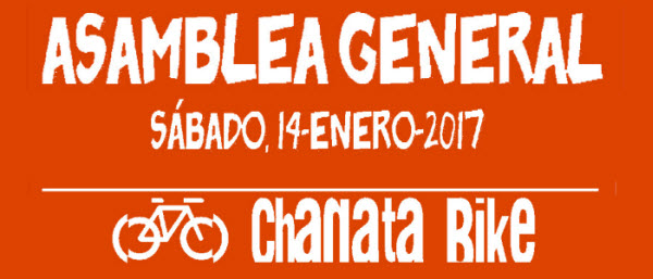 ASAMBLEA GENERAL CHANATA BIKE