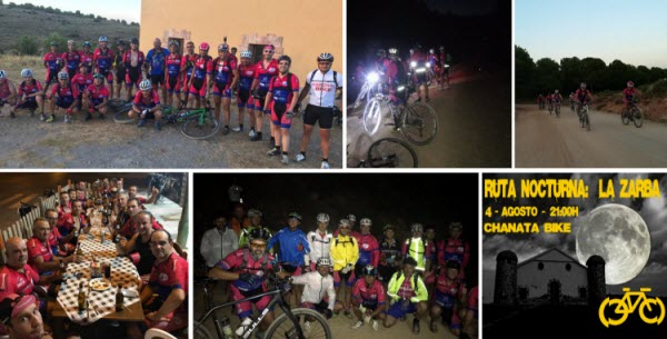 NOCTURNA CHANATA BIKE - AGOSTO 2017