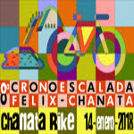 CRONOESCALADA CHANATA BIKE 14-ENE-2018