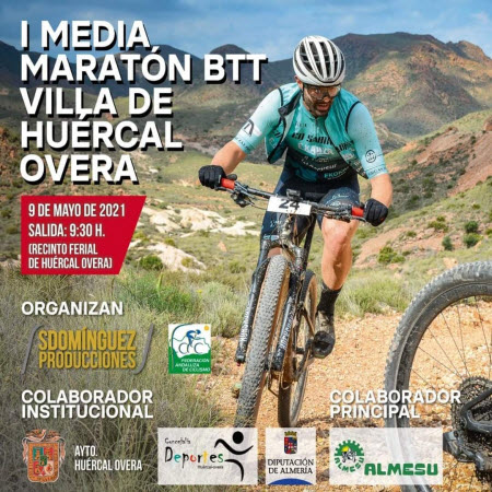 MEDIA MARATÓN BTT HUÉRCAL OVERA